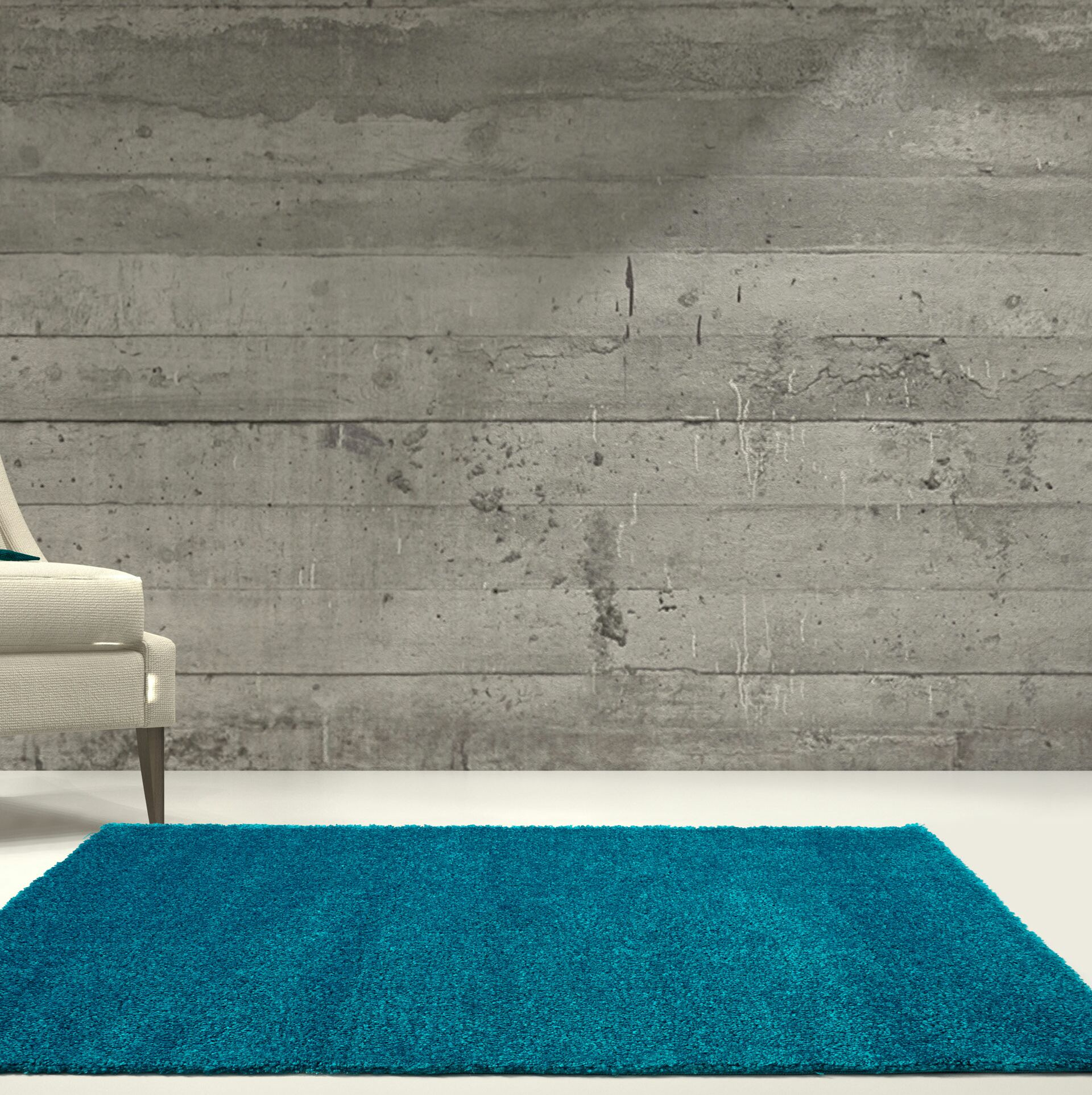Chantry Turquoise Area Rug Rug Size: Rectangle 7'10