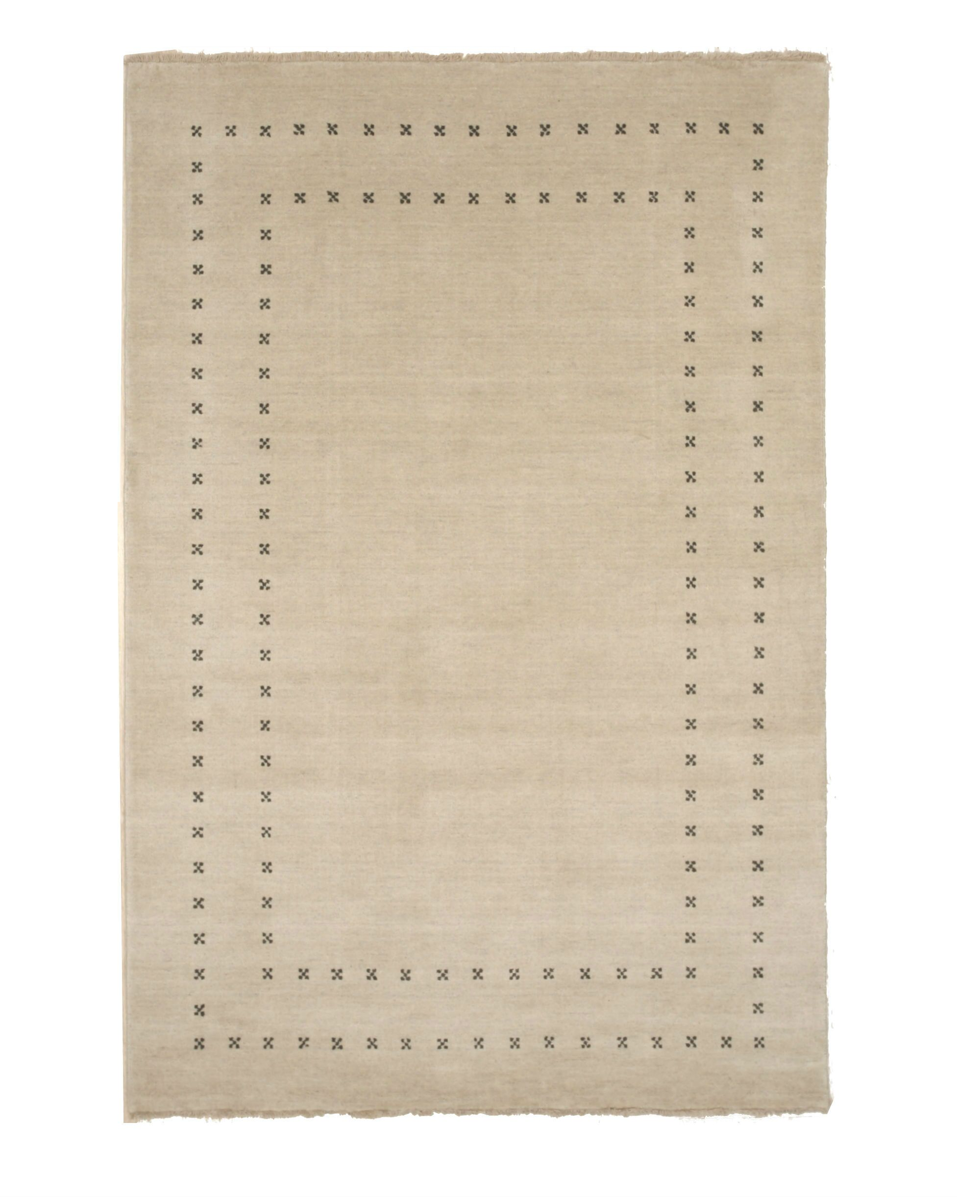 Dreher Transitional Solid Hand-Woven Wool Beige Area Rug Rug Size: Rectangle 10' x 14'