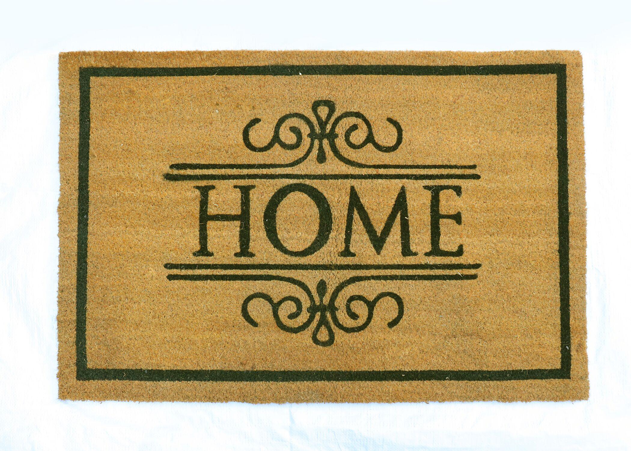 Barnaby PVC Back Printed Doormat