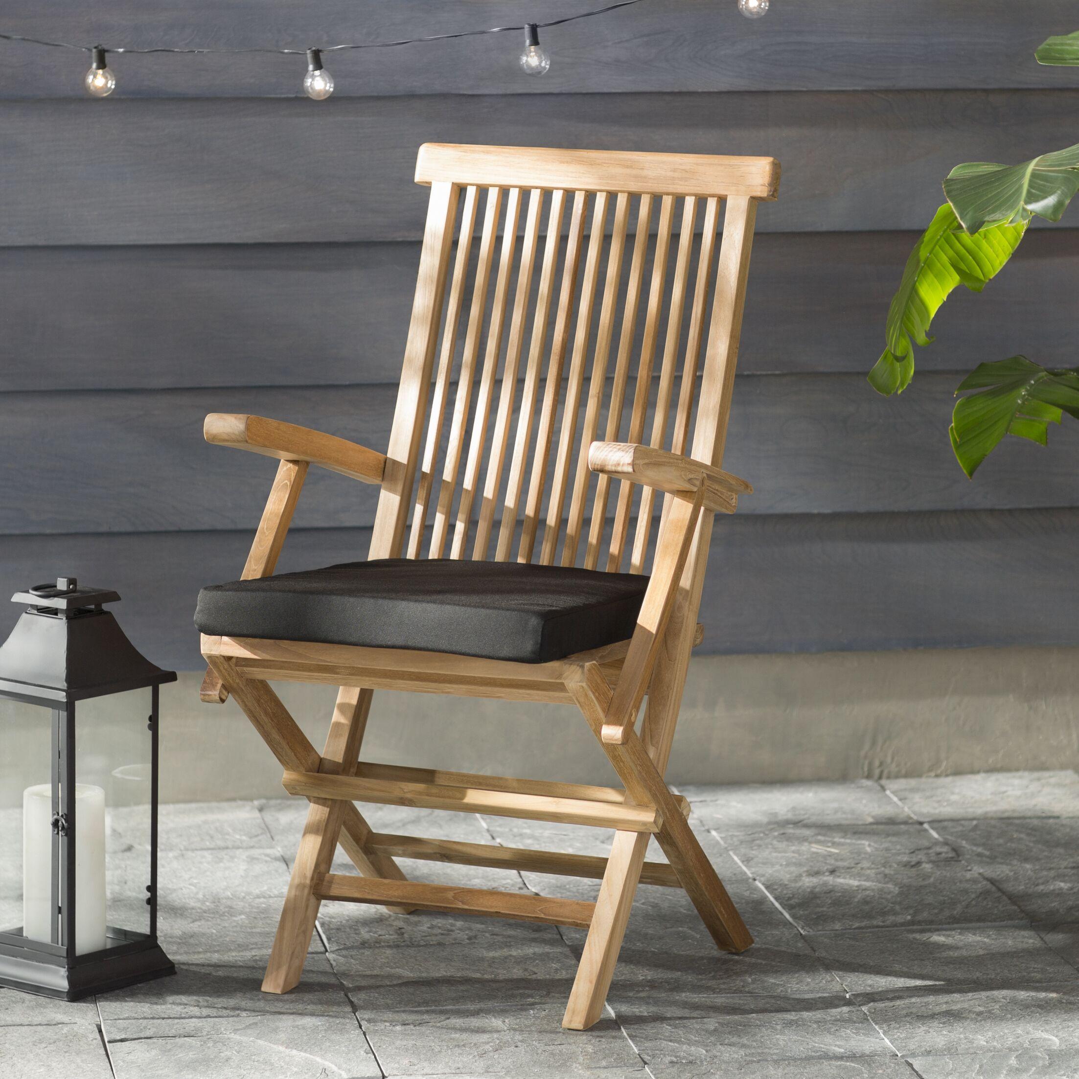 Pellot Indoor/ Indoor/Outdoor Dining Chair Cushion Size: 20