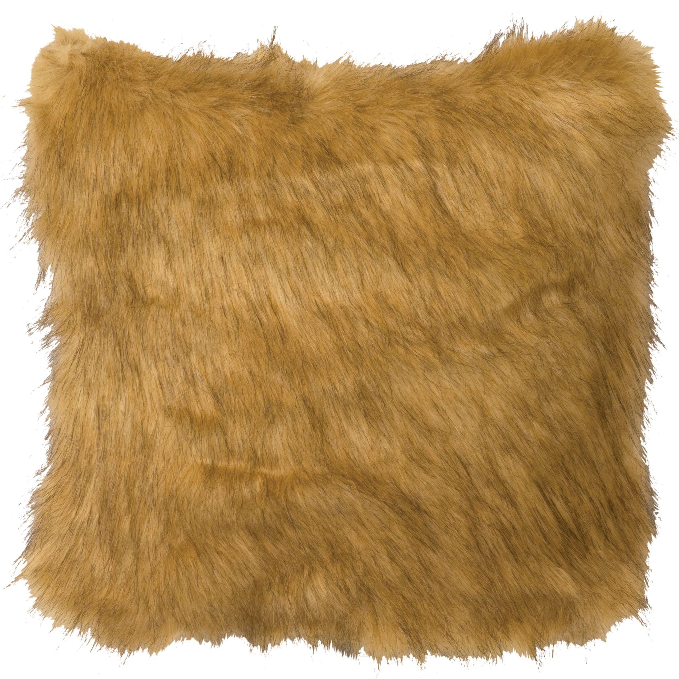 Pumphrey Mountain Lion Throw Pillow Size: 18