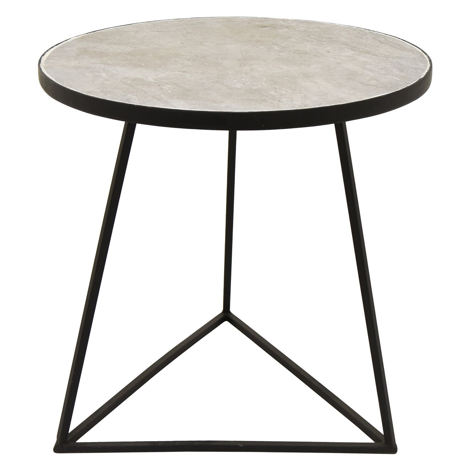 Gassaway Metal End Table