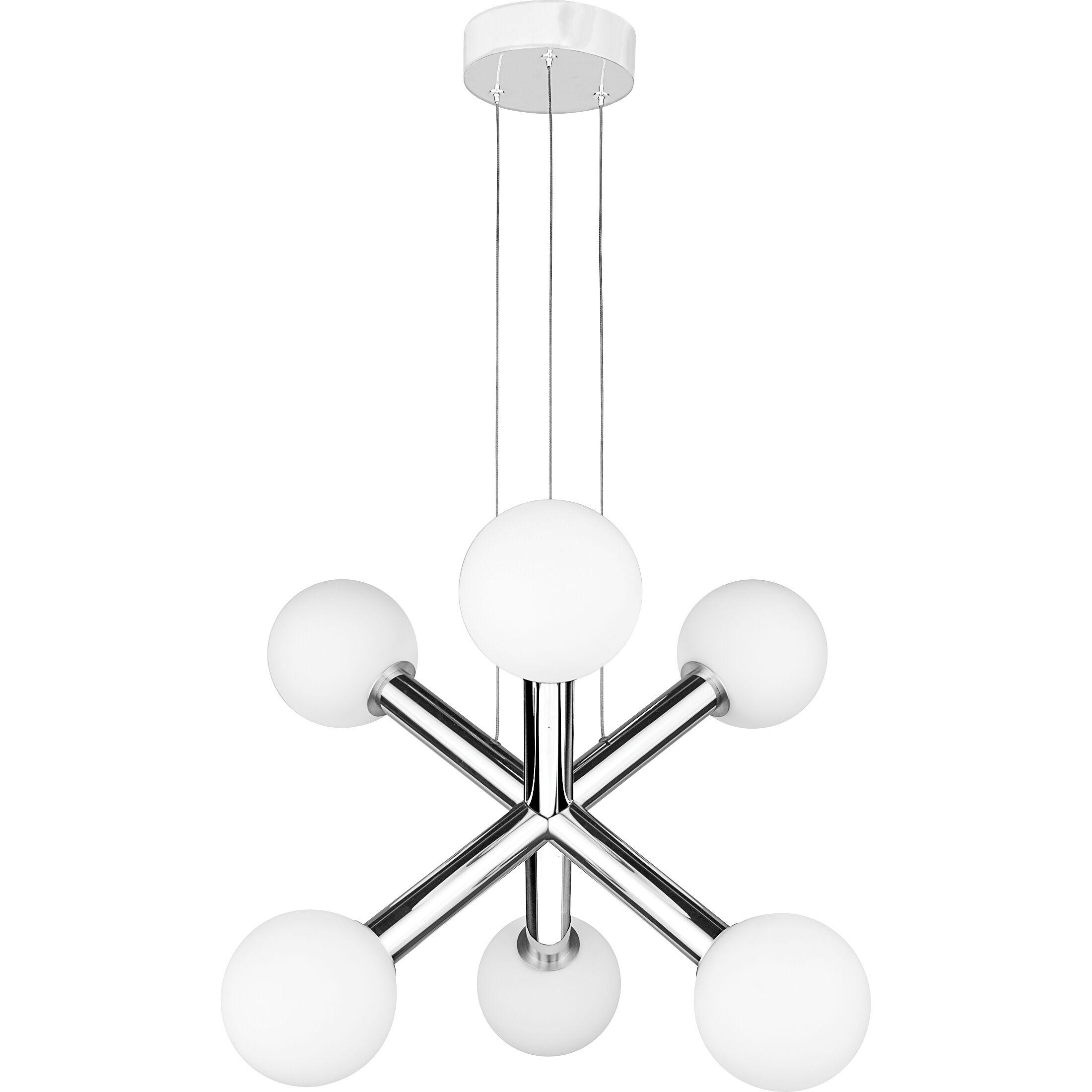 Reimers 6-Light LED Sputnik Chandelier