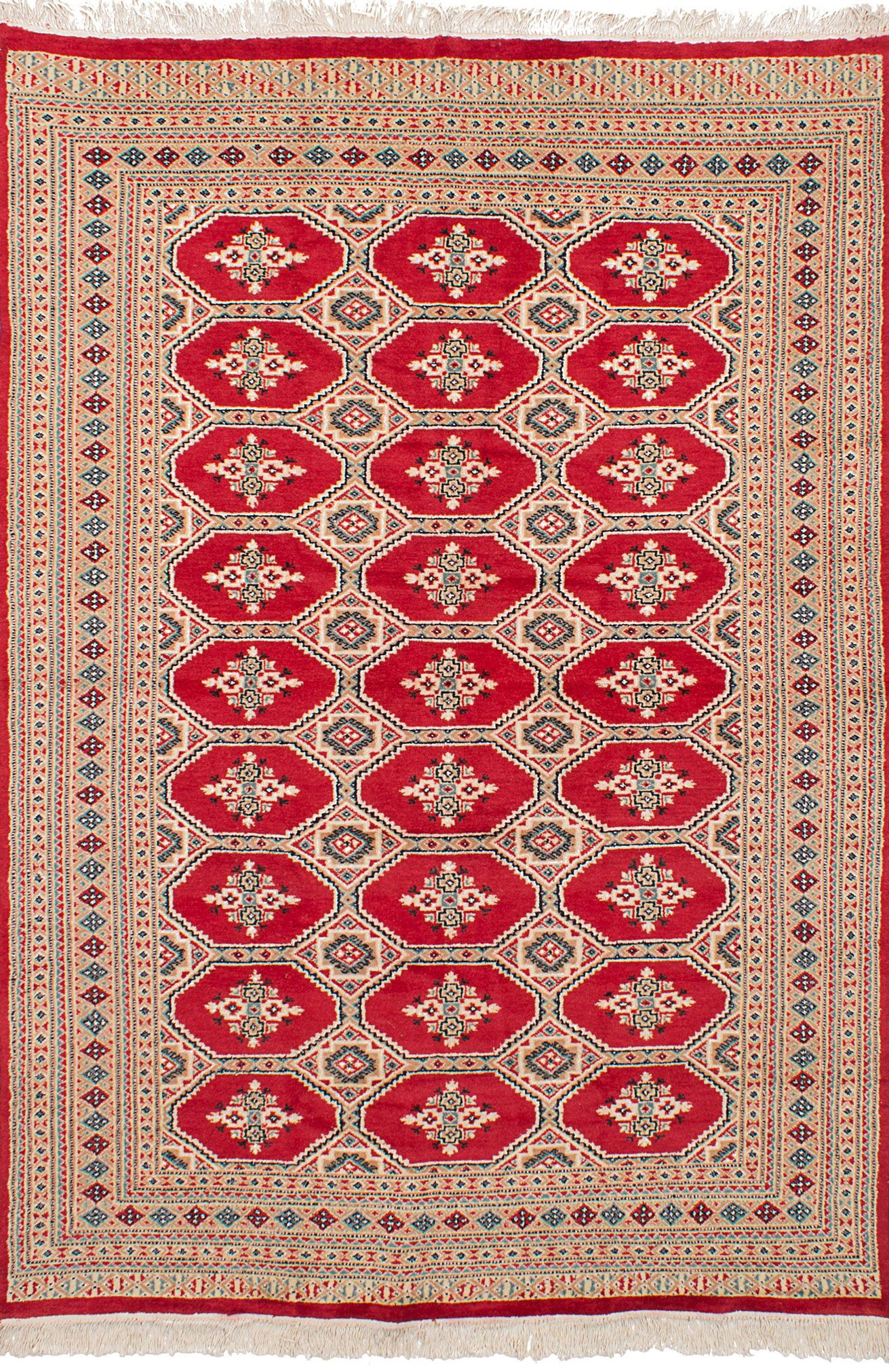 One-of-a-Kind Do Hand-Knotted Wool Red Area Rug