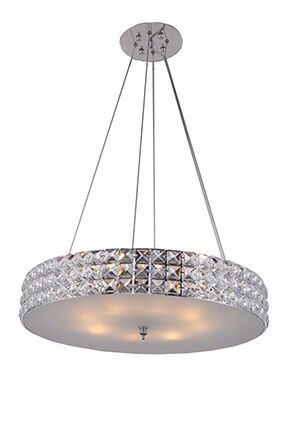 Mcdowell 3-Light Crystal Chandelier