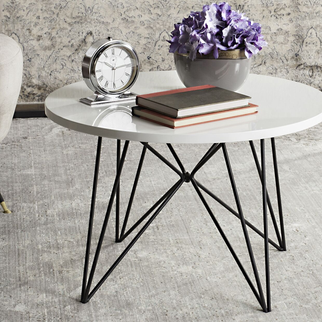Hornsea Coffee Table Top Color: Lacquer White