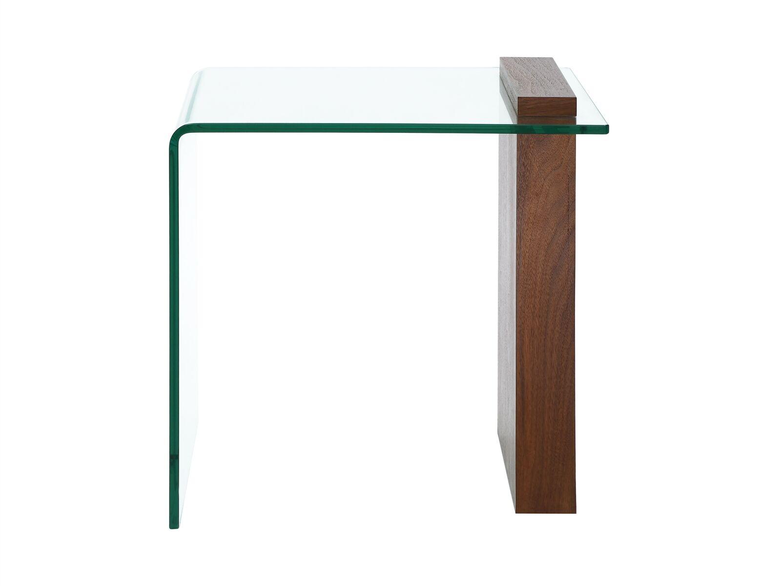 Gulley End Table Table Base Color: Walnut Veneer