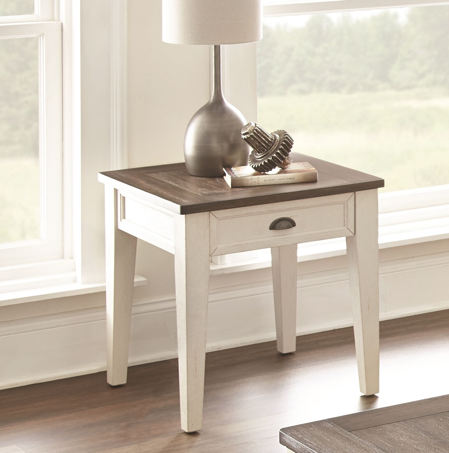Chong End Table with Storage