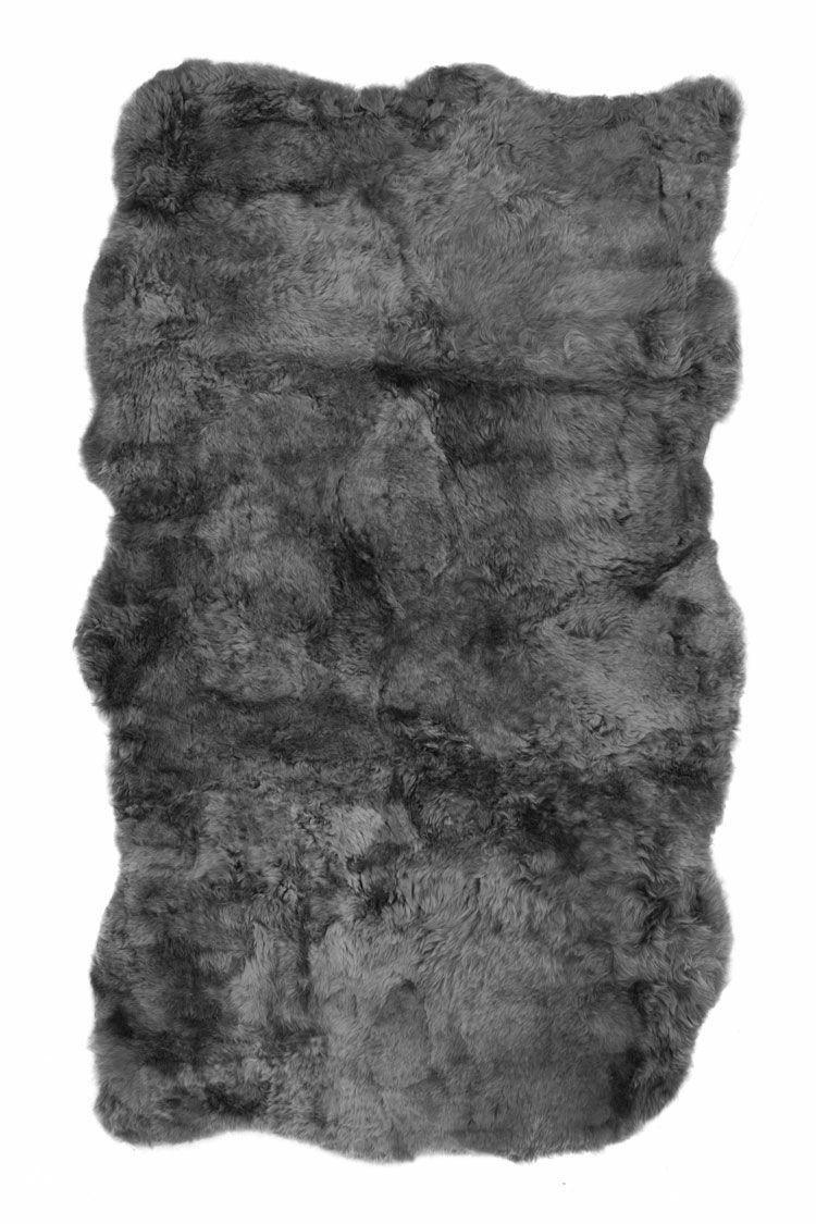 Acevedo Icelandic Sheepskin Gray Area Rug