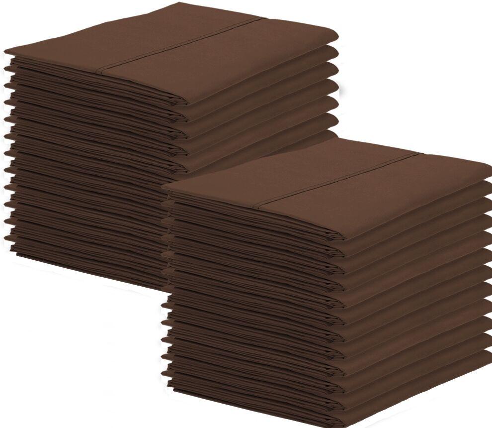 Galante Pillowcase Color: Cocoa, Size: King