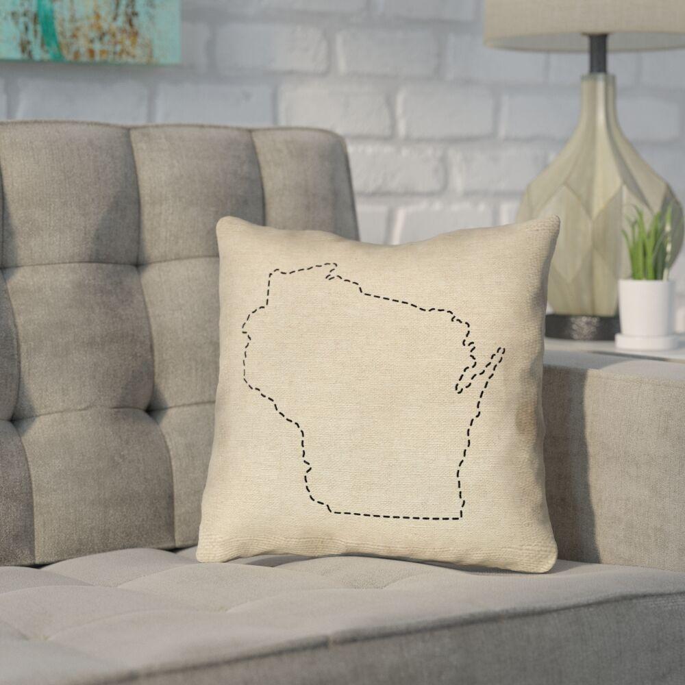 Sherilyn Wisconsin Dash Outline Size: 28