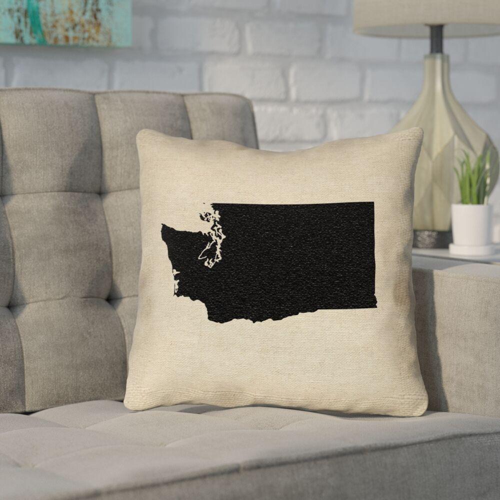 Sherilyn Washington Throw Pillow Size: 18