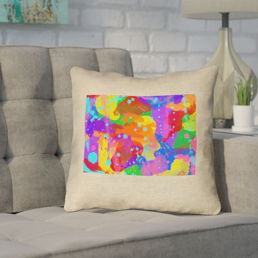 Sherilyn Wyoming Throw Pillow Size: 18