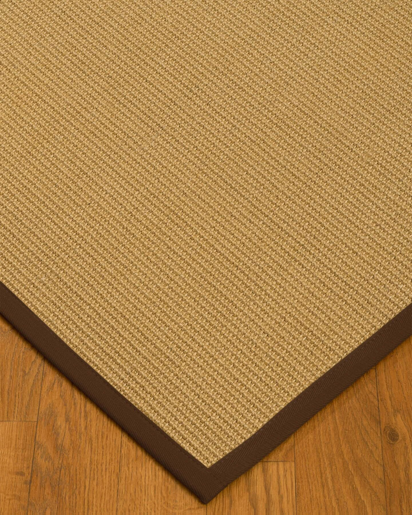 Buser Hand-Woven Beige Area Rug Rug Size: Rectangle 6' x 9'