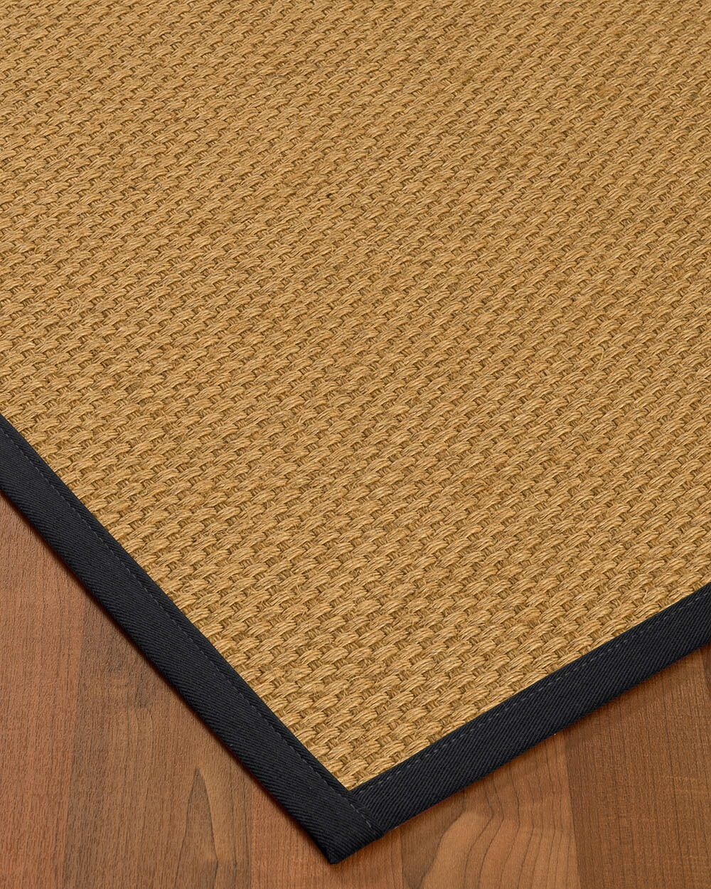 Kimpel Hand-Woven Beige Area Rug Rug Size: Rectangle 6' x 9'