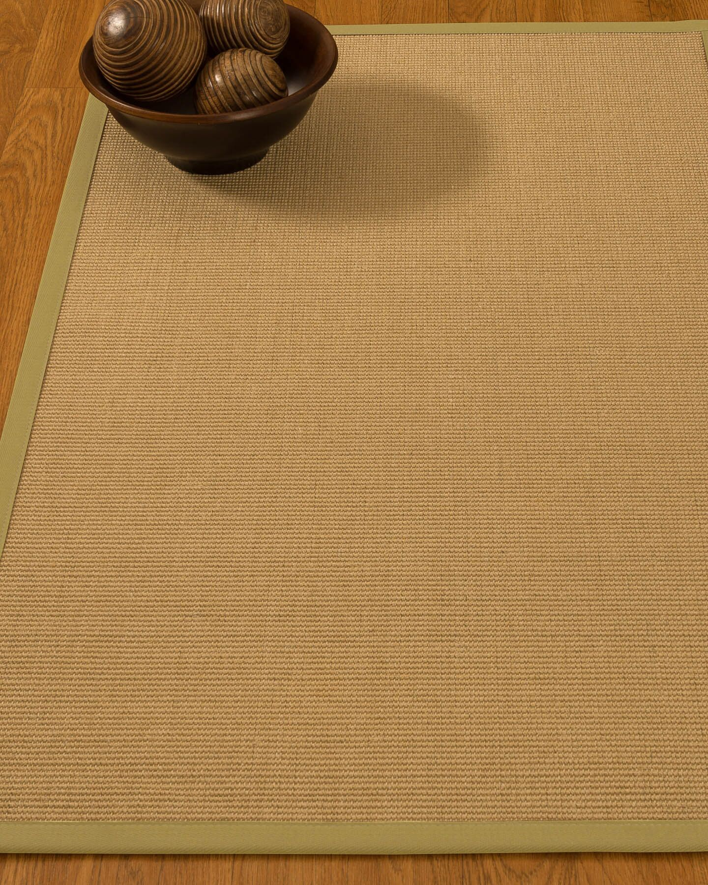Buser Hand-Woven Beige Area Rug Rug Size: Rectangle 9' x 12'