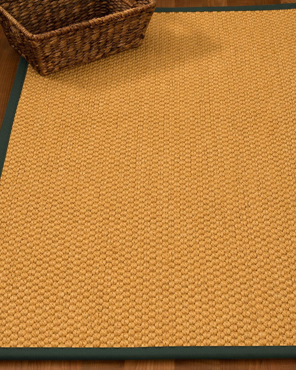Kimes Hand-Woven Beige Area Rug Rug Size: Rectangle 4' x 6'