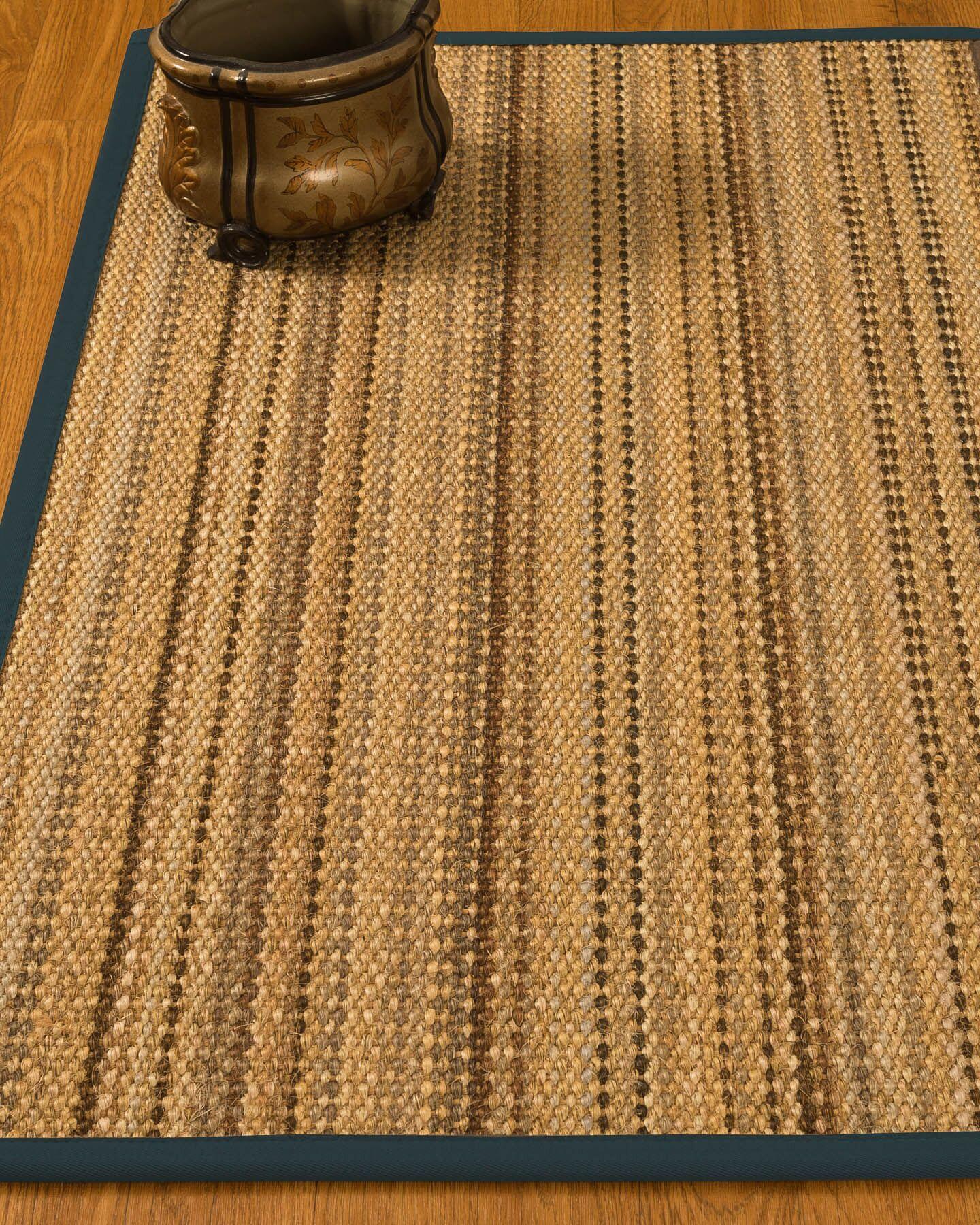 Kimmel Hand-Woven Beige Area Rug Rug Size: Rectangle 6' x 9'