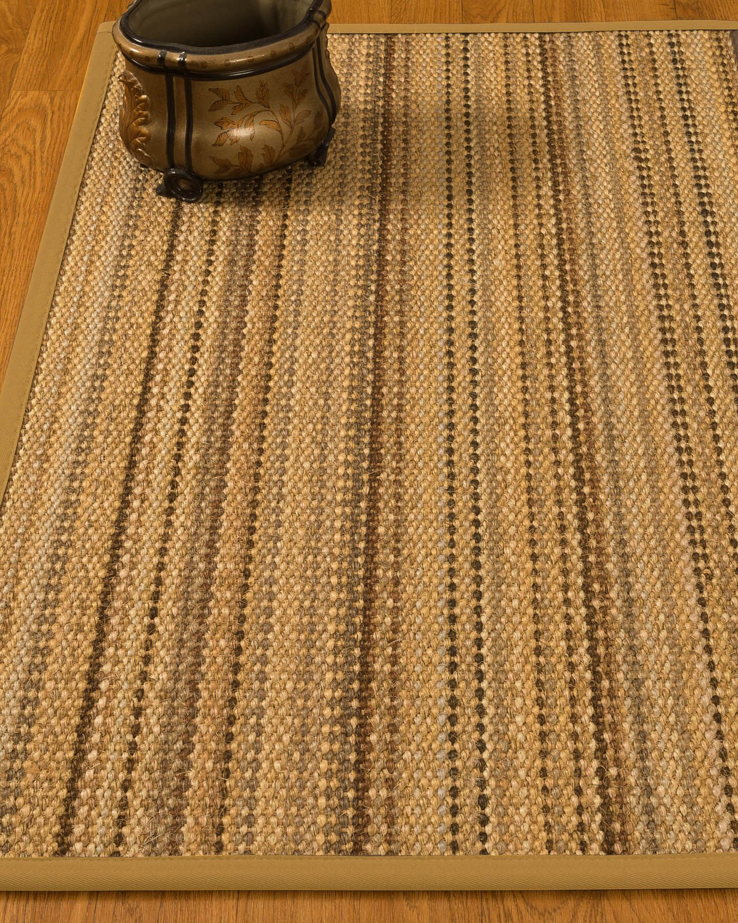 Kimmel Hand-Woven Beige Area Rug Rug Size: Rectangle 3' x 5'
