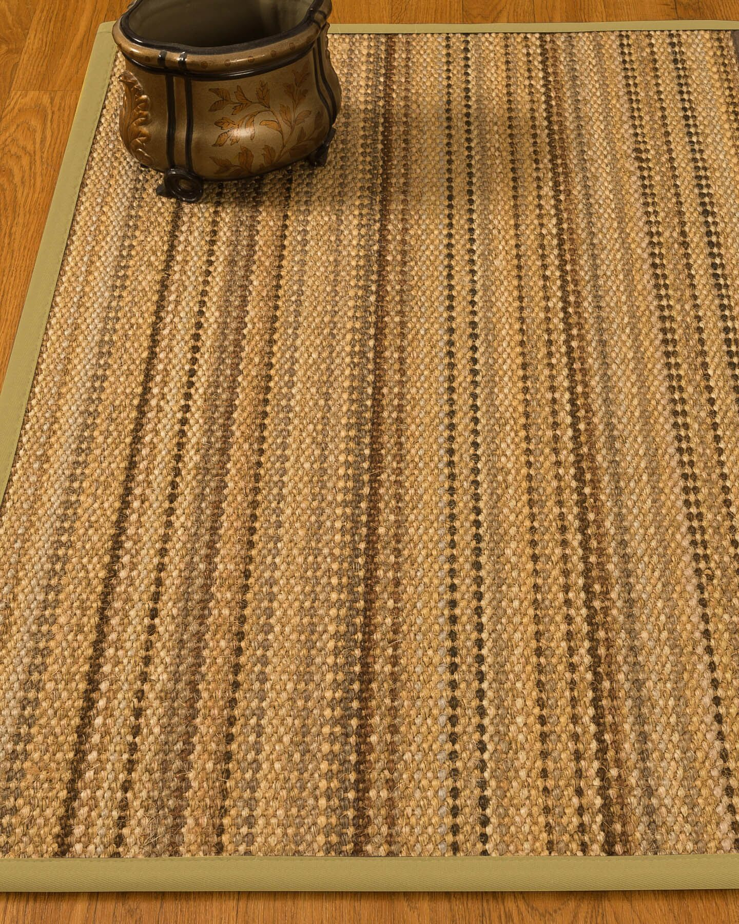 Kimmel Hand-Woven Beige Area Rug Rug Size: Rectangle 9' x 12'