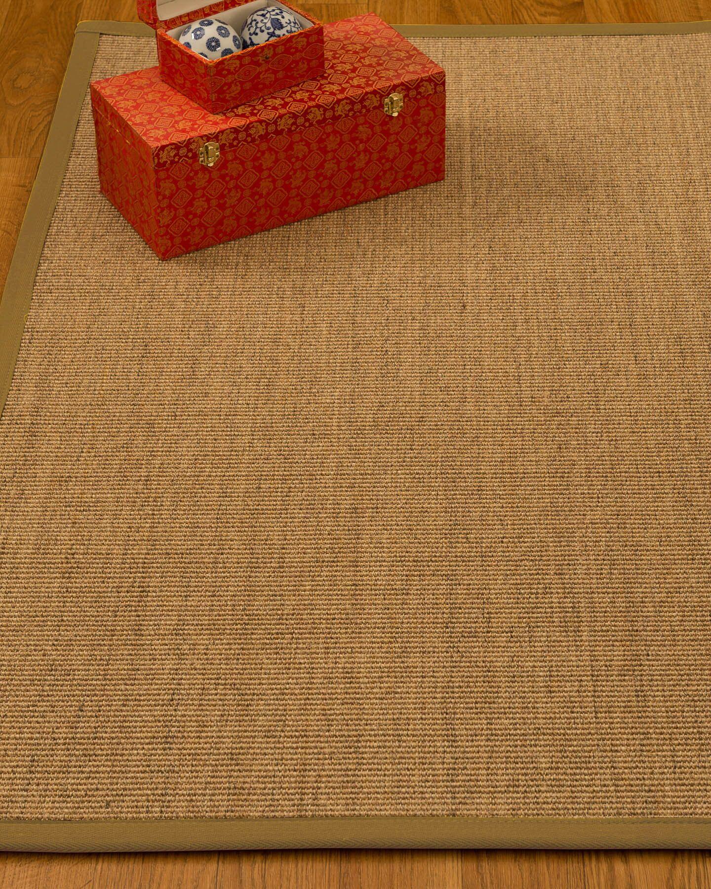 Kimberlin Hand-Woven Beige Area Rug Rug Size: Rectangle 12' x 15'