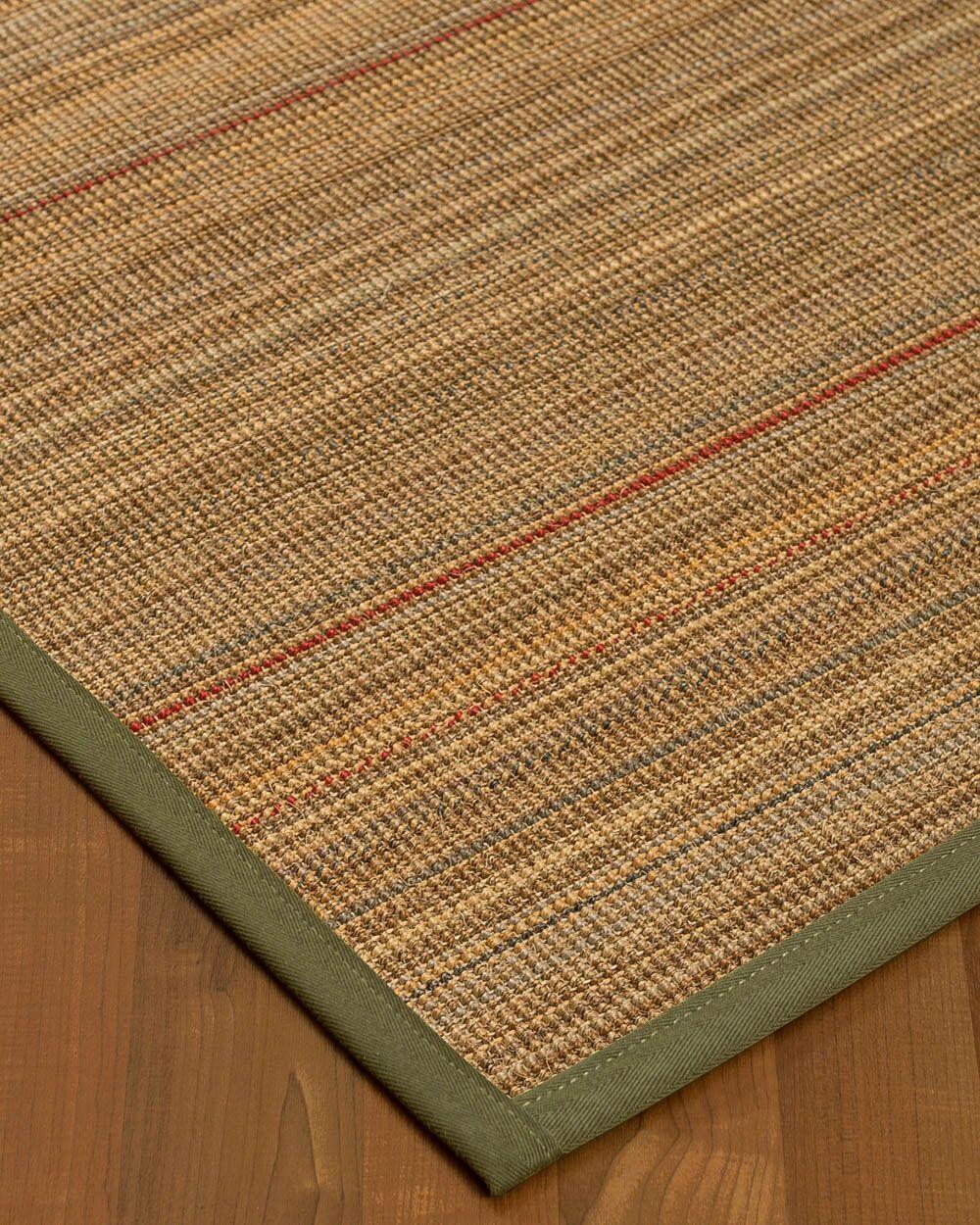 Kimble Hand-Woven Beige Area Rug Rug Size: Rectangle 8' x 10'