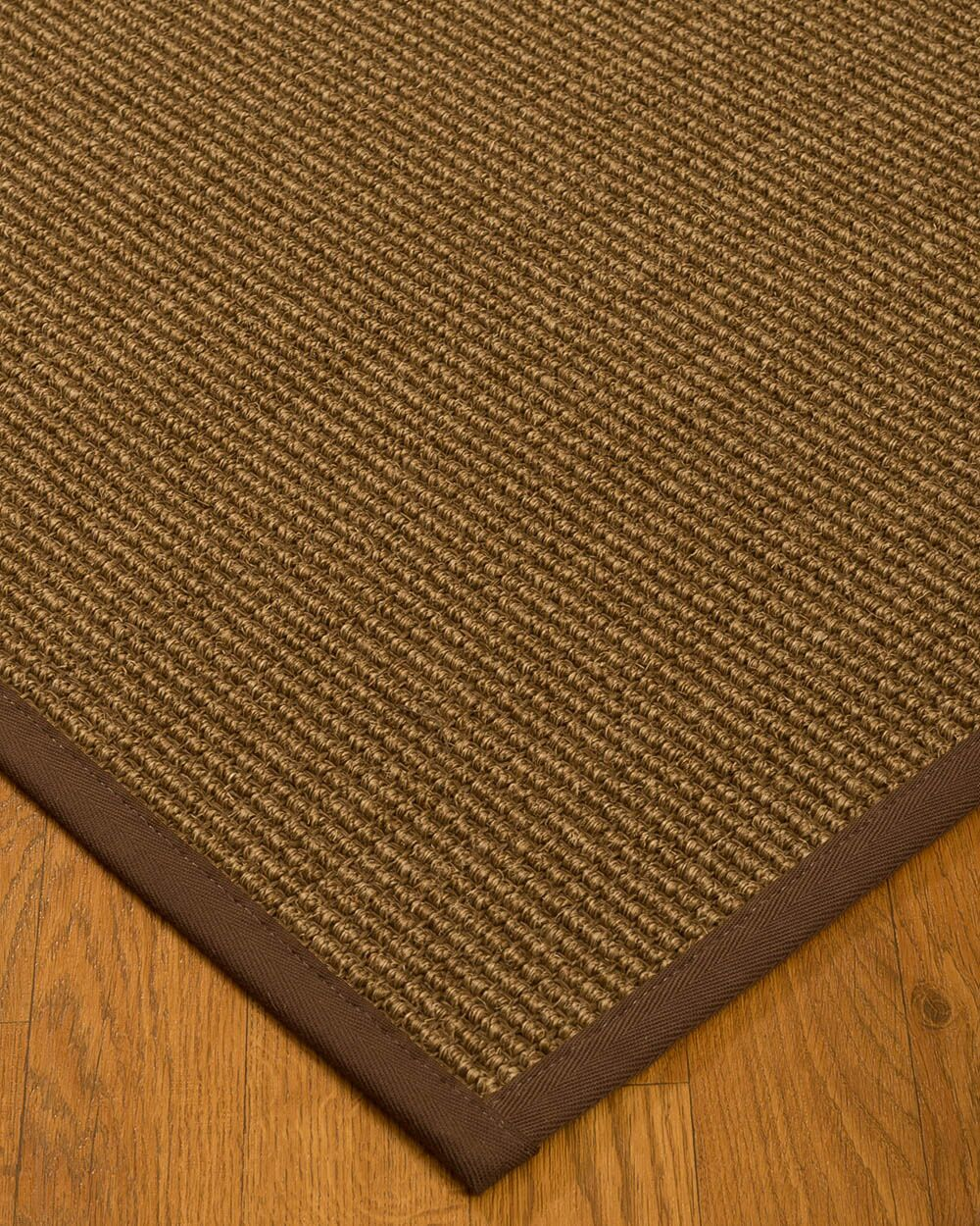 Kimbolton Hand-Woven Brown Area Rug Rug Size: Rectangle 5' x 8'