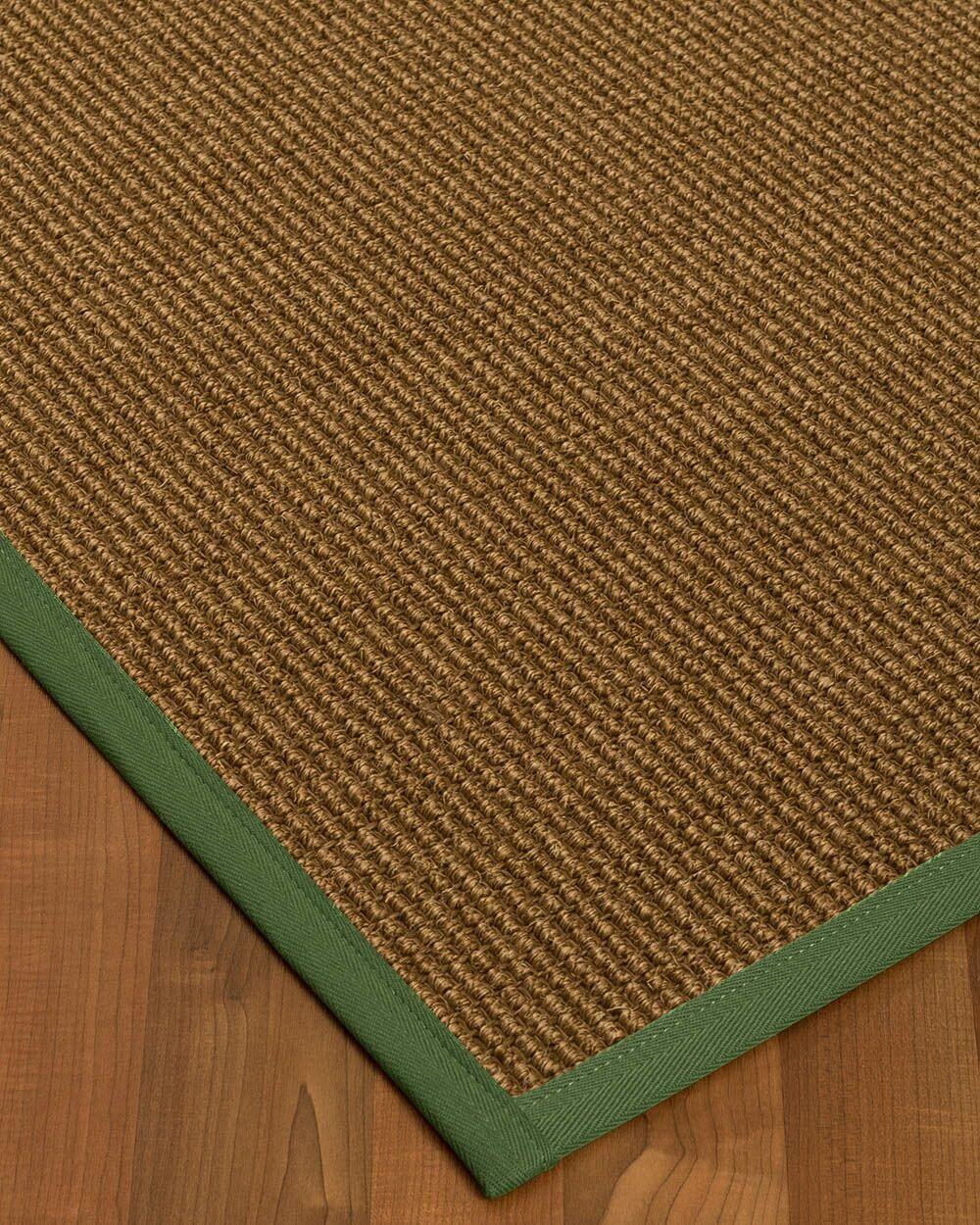 Kimbolton Hand-Woven Brown Area Rug Rug Size: Rectangle 9' x 12'