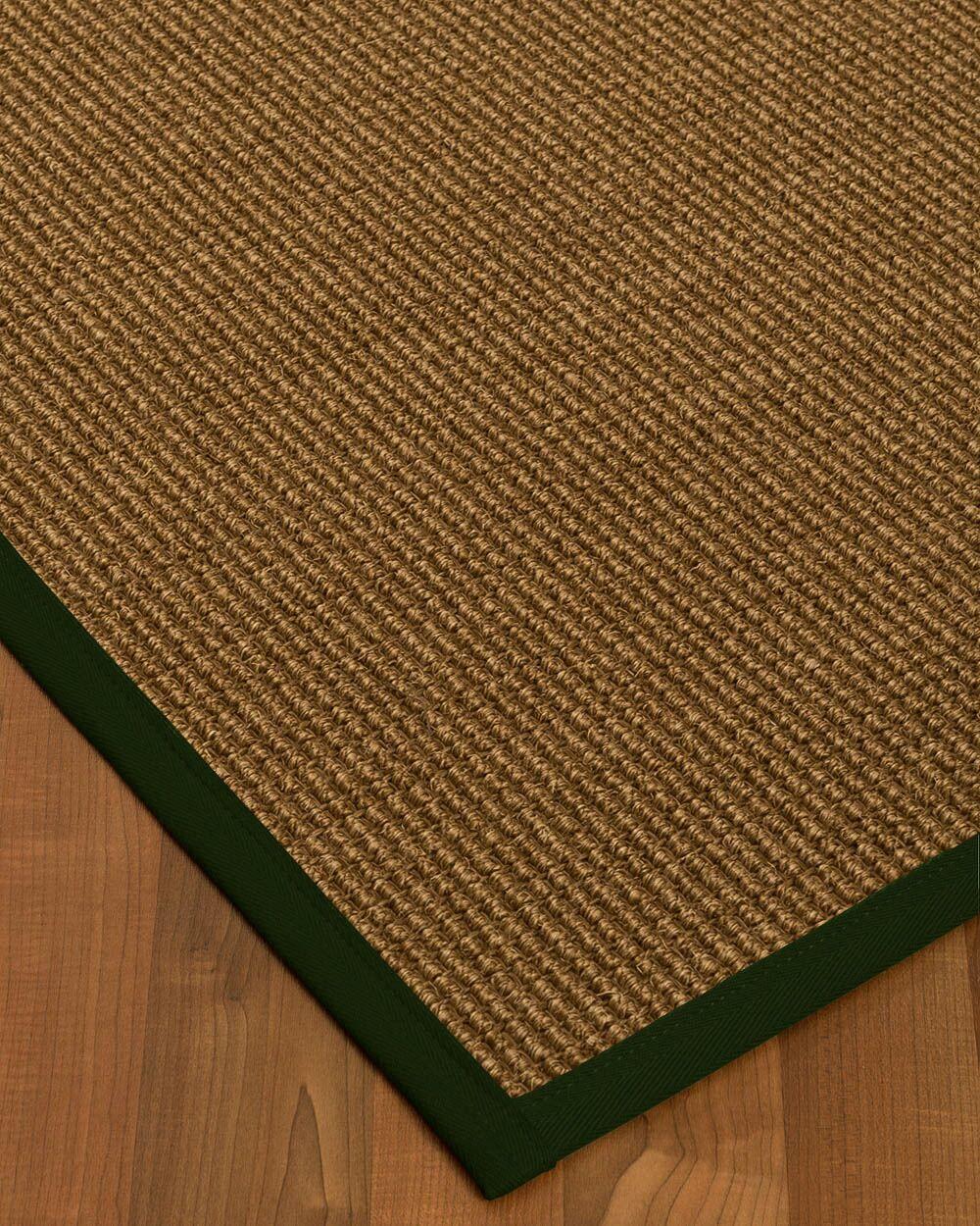 Kimbolton Hand-Woven Brown Area Rug Rug Size: Rectangle 5' x 8'