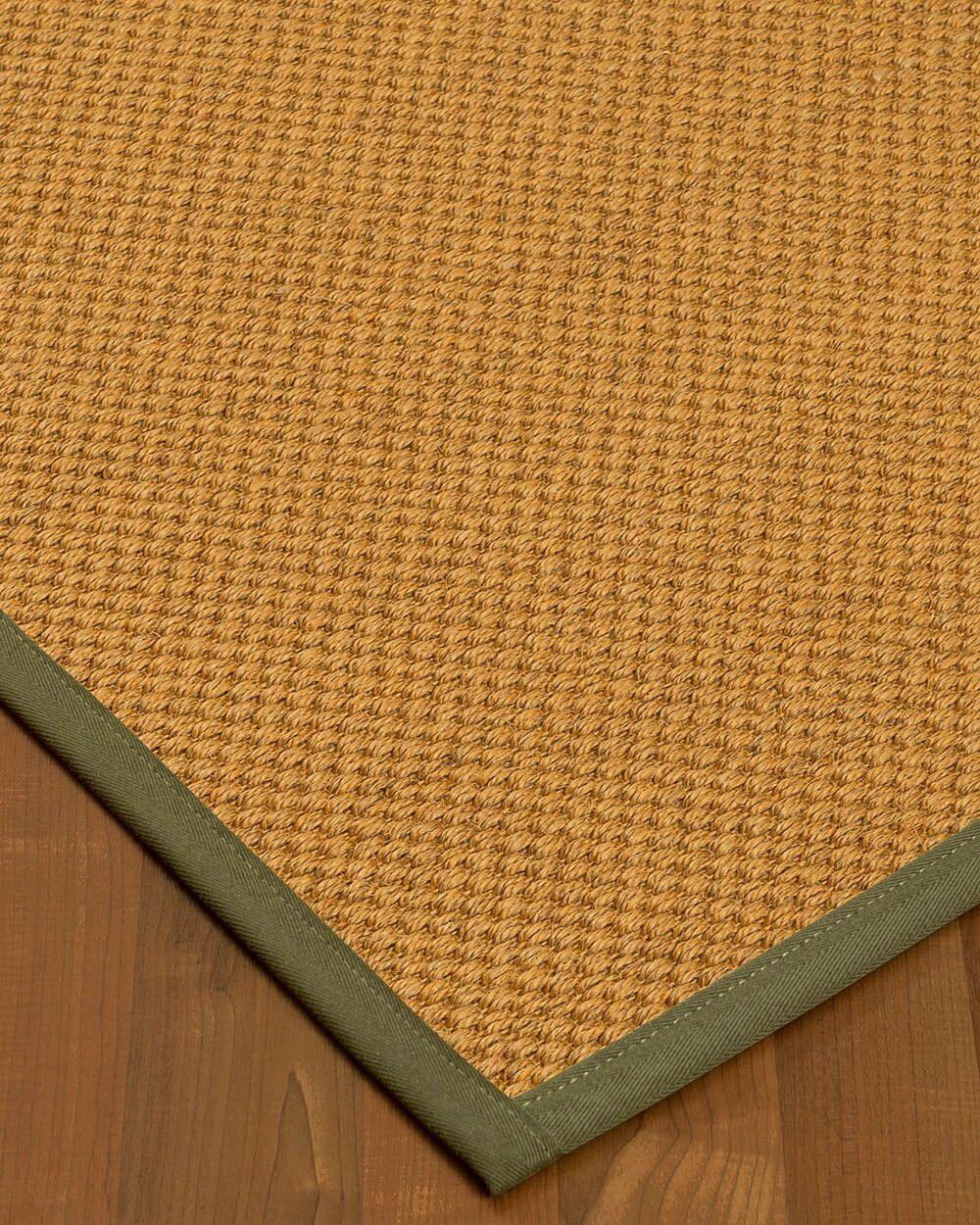 Halter Hand-Woven Beige Area Rug Rug Size: Rectangle 3' x 5'