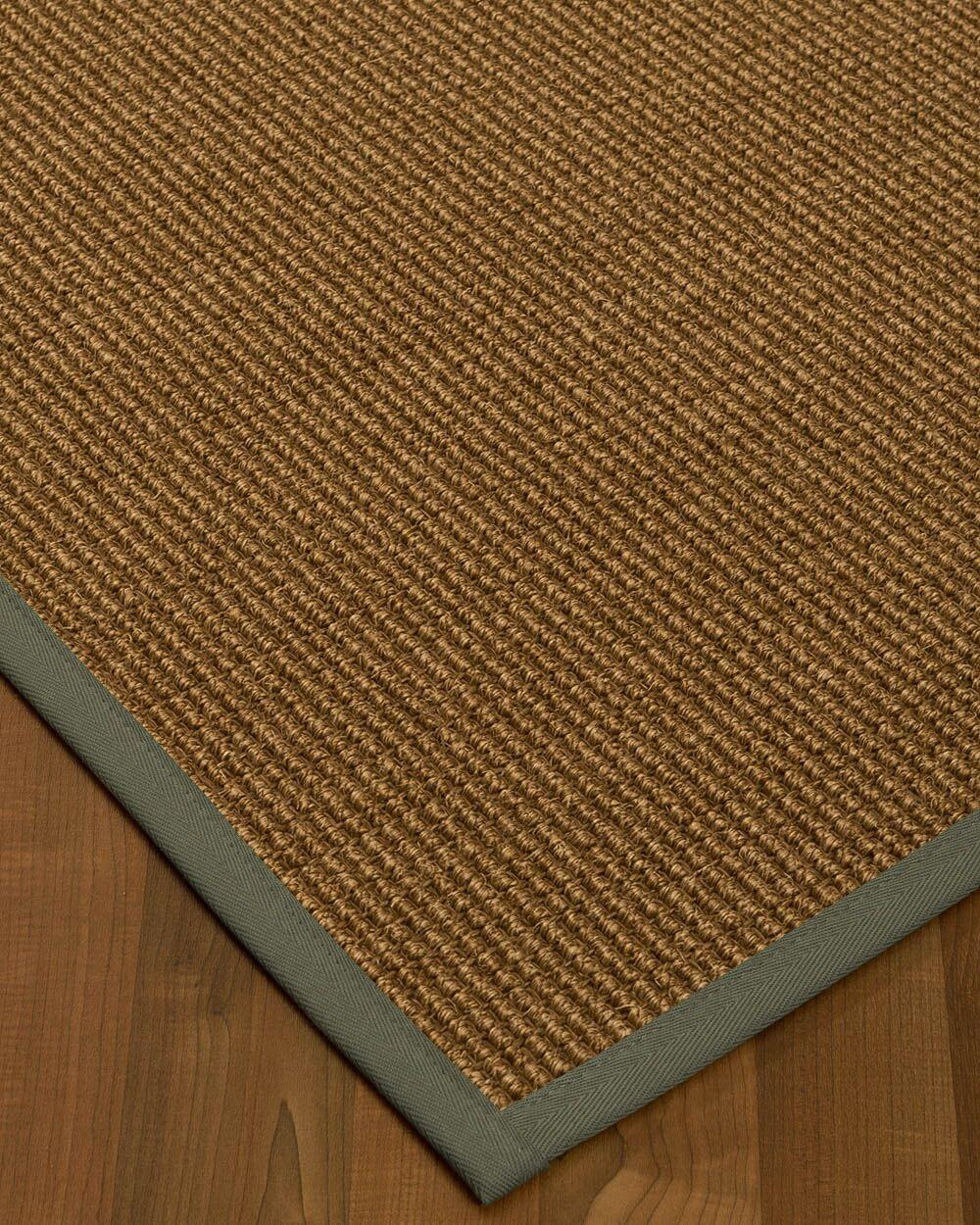 Kimbolton Hand-Woven Brown Area Rug Rug Size: Rectangle 3' x 5'
