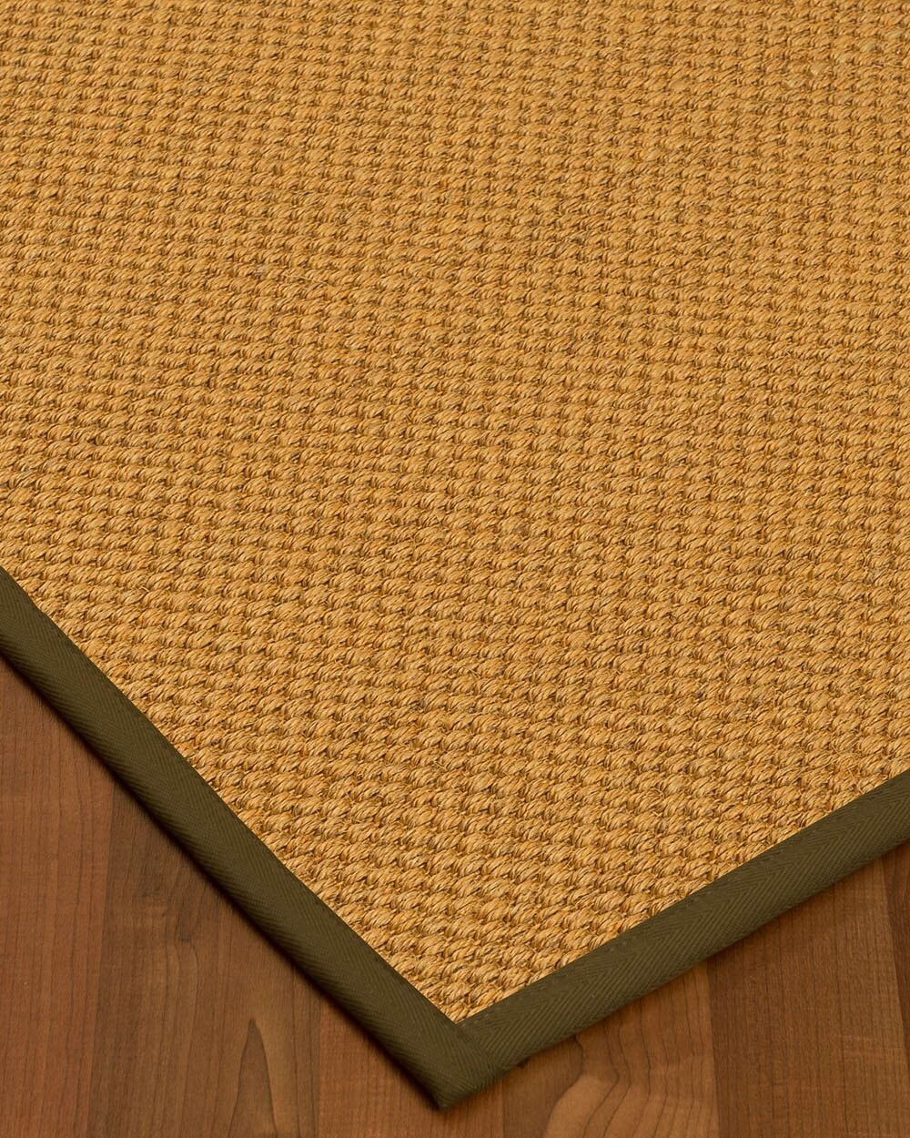 Halter Hand-Woven Beige Area Rug Rug Size: Rectangle 6' x 9'