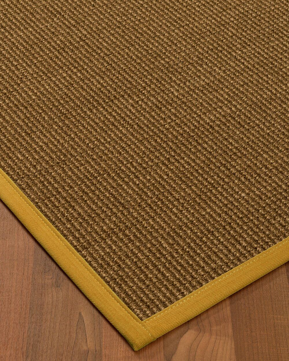 Kimbolton Hand-Woven Brown Area Rug Rug Size: Rectangle 6' x 9'