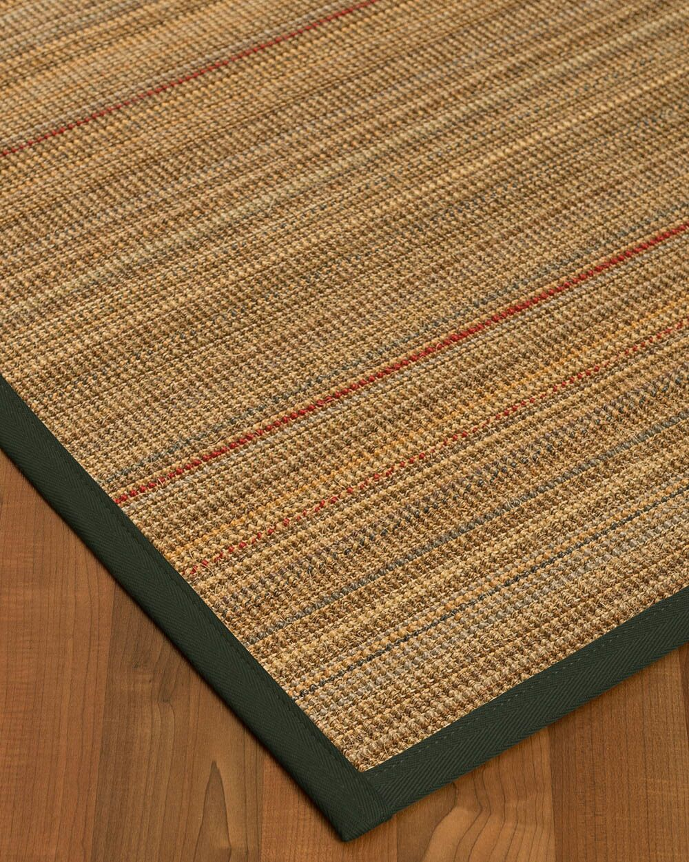 Kimble Hand-Woven Beige Area Rug Rug Size: Rectangle 8' x 10'