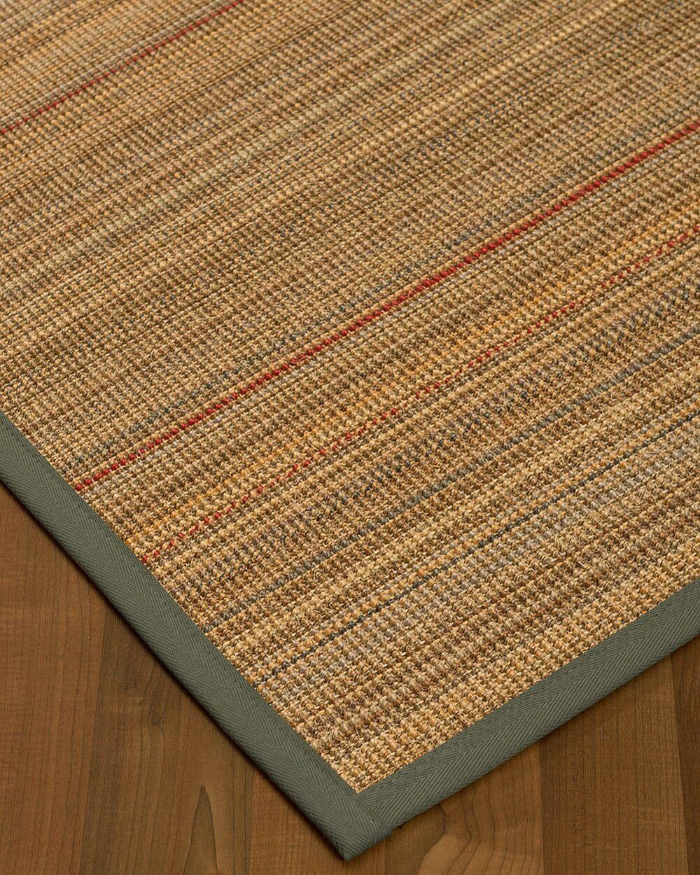 Kimble Hand-Woven Beige Area Rug Rug Size: Rectangle 5' x 8'