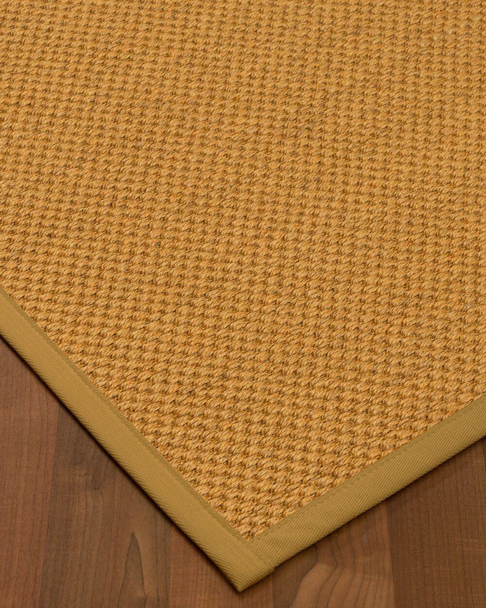 Halter Hand-Woven Beige Area Rug Rug Size: Rectangle 9' x 12'