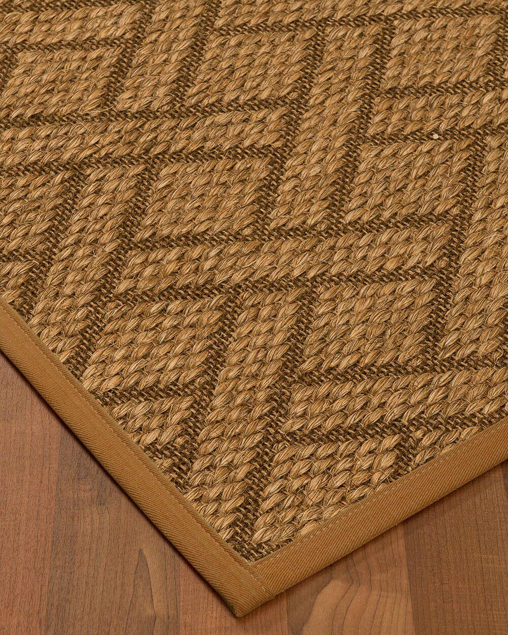 Kimbro Hand-Woven Beige Area Rug Rug Size: Rectangle 5' x 8'