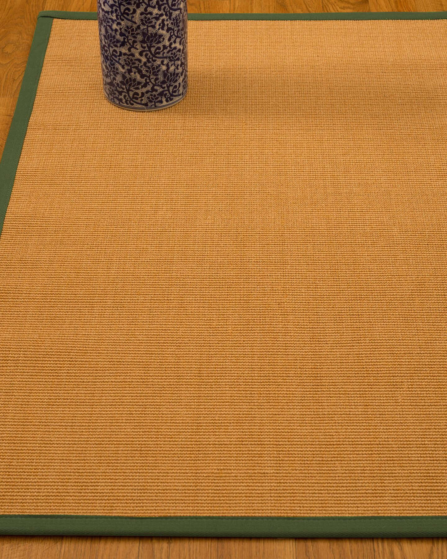Gregory Hand-Woven Beige Area Rug Rug Size: Rectangle 4' x 6'