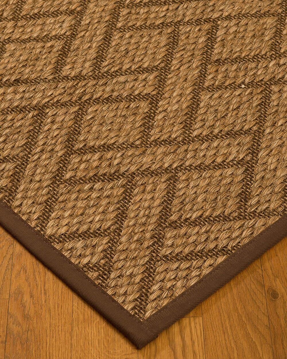 Kimbro Hand-Woven Beige Area Rug Rug Size: Rectangle 3' x 5'