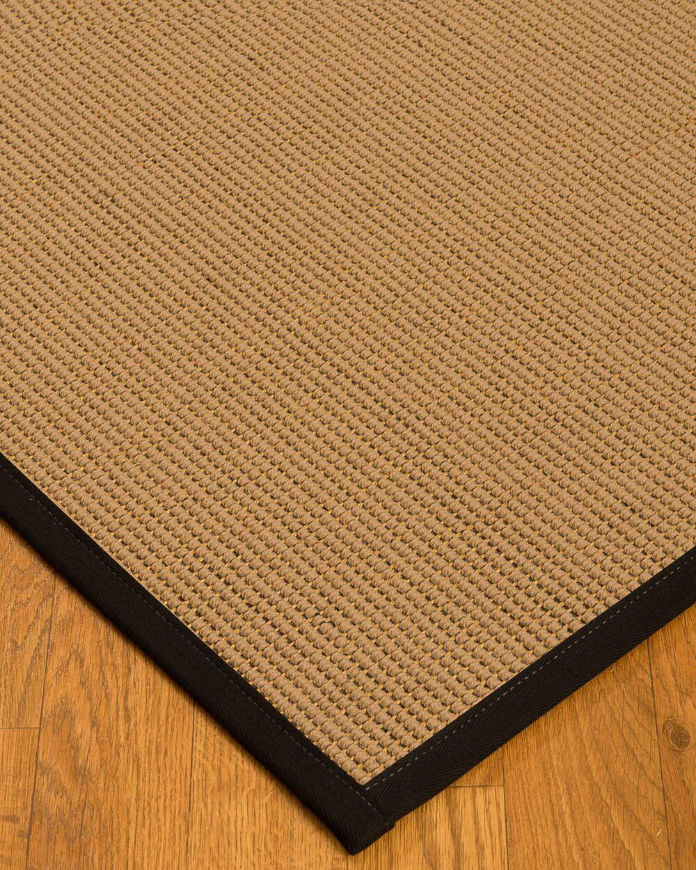 Badham Hand-Woven Wool Beige Area Rug Rug Size: Rectangle 8' x 10'