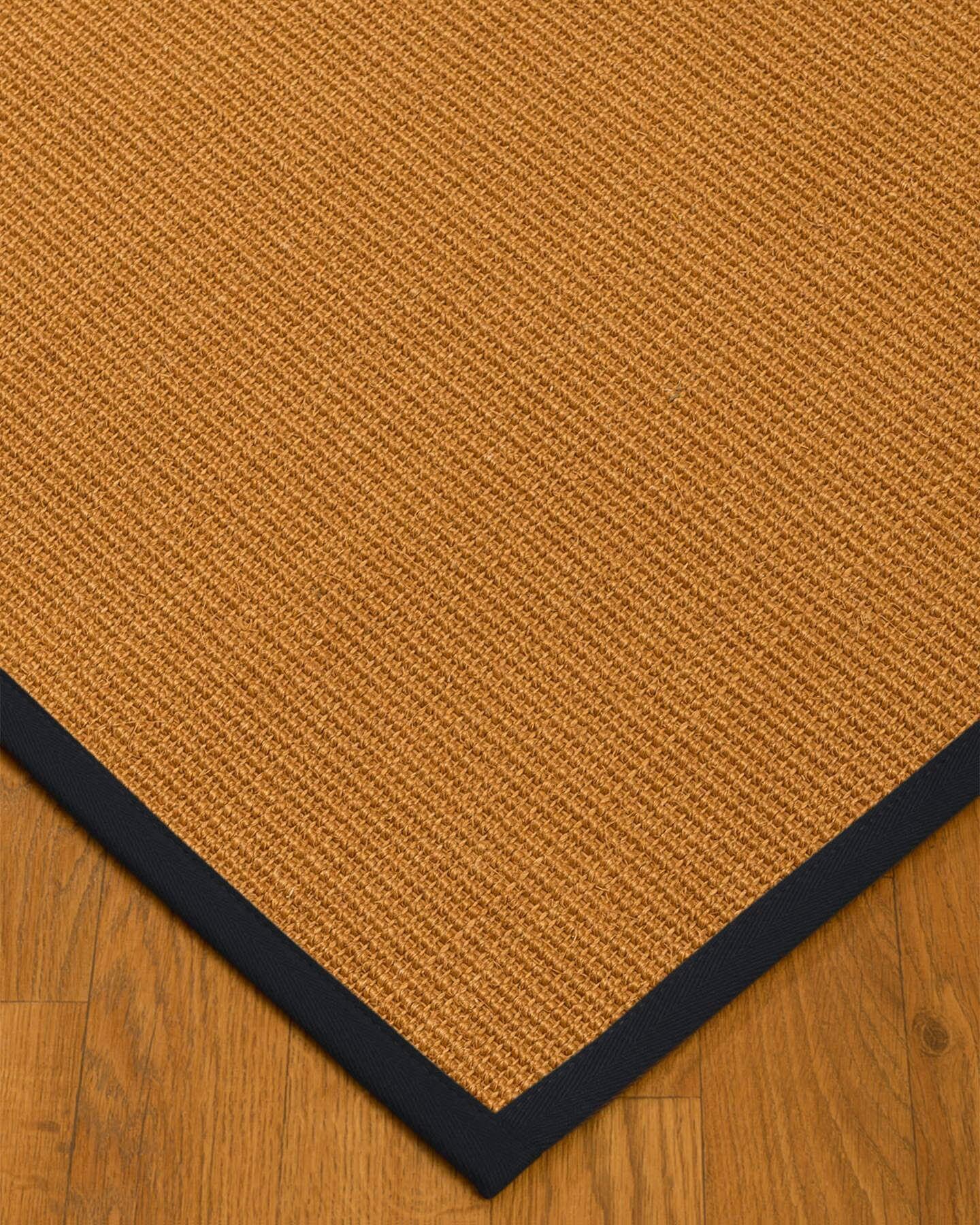 Keltner Border Hand-Woven Brown/Black Area Rug Rug Size: Runner 2'6