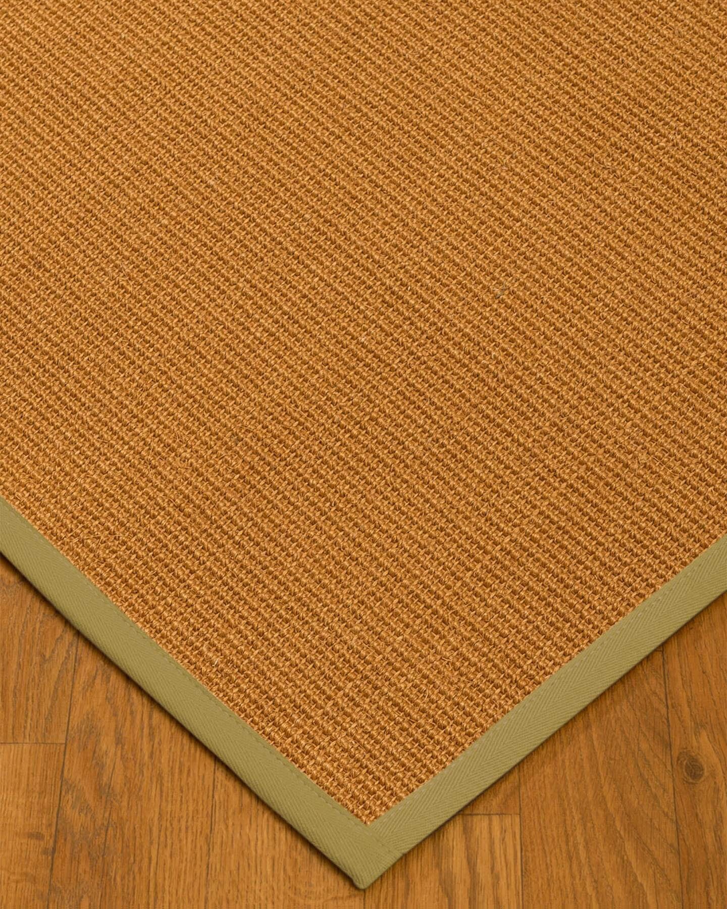 Kelty Border Hand-Woven Brown/Olive Area Rug Rug Size: Rectangle 3' x 5'