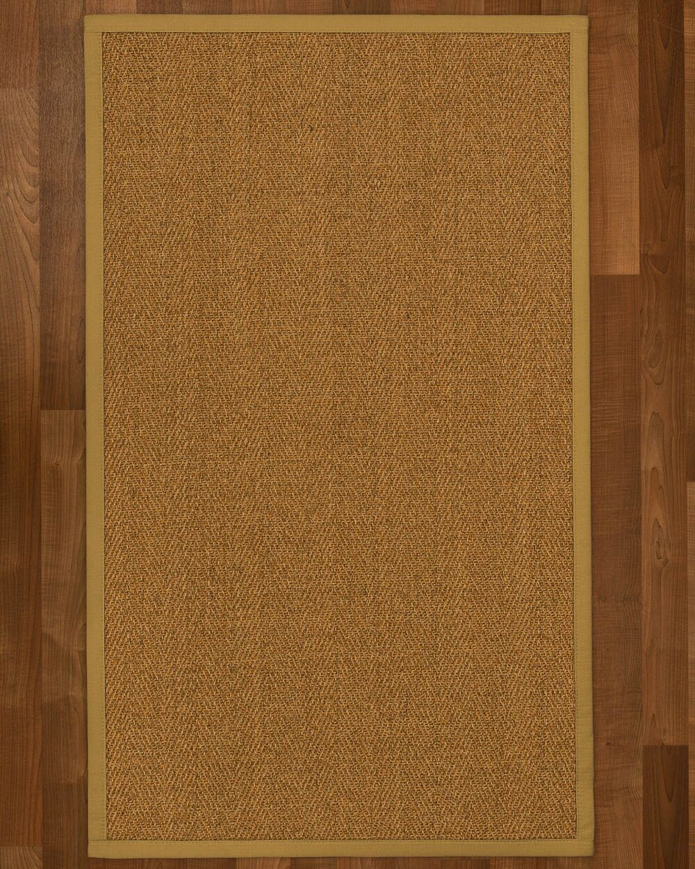Asmund Border Hand-Woven Brown Area Rug Rug Size: Rectangle 12' x 15', Rug Pad Included: Yes