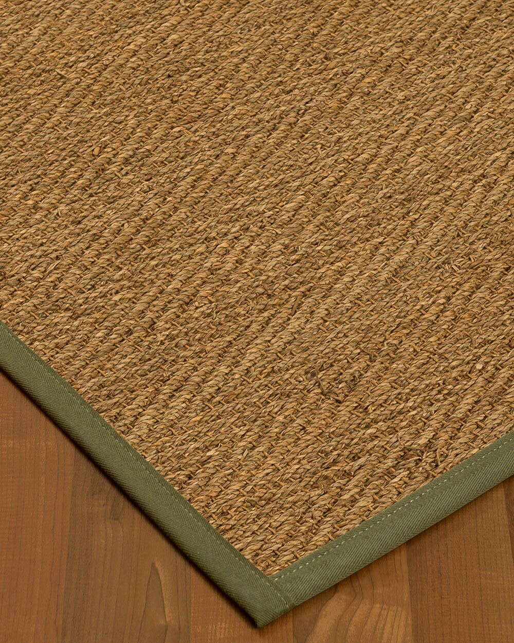 Chavarria Border Hand-Woven Beige/Fossil Area Rug Rug Size: Rectangle 9' x 12', Rug Pad Included: Yes