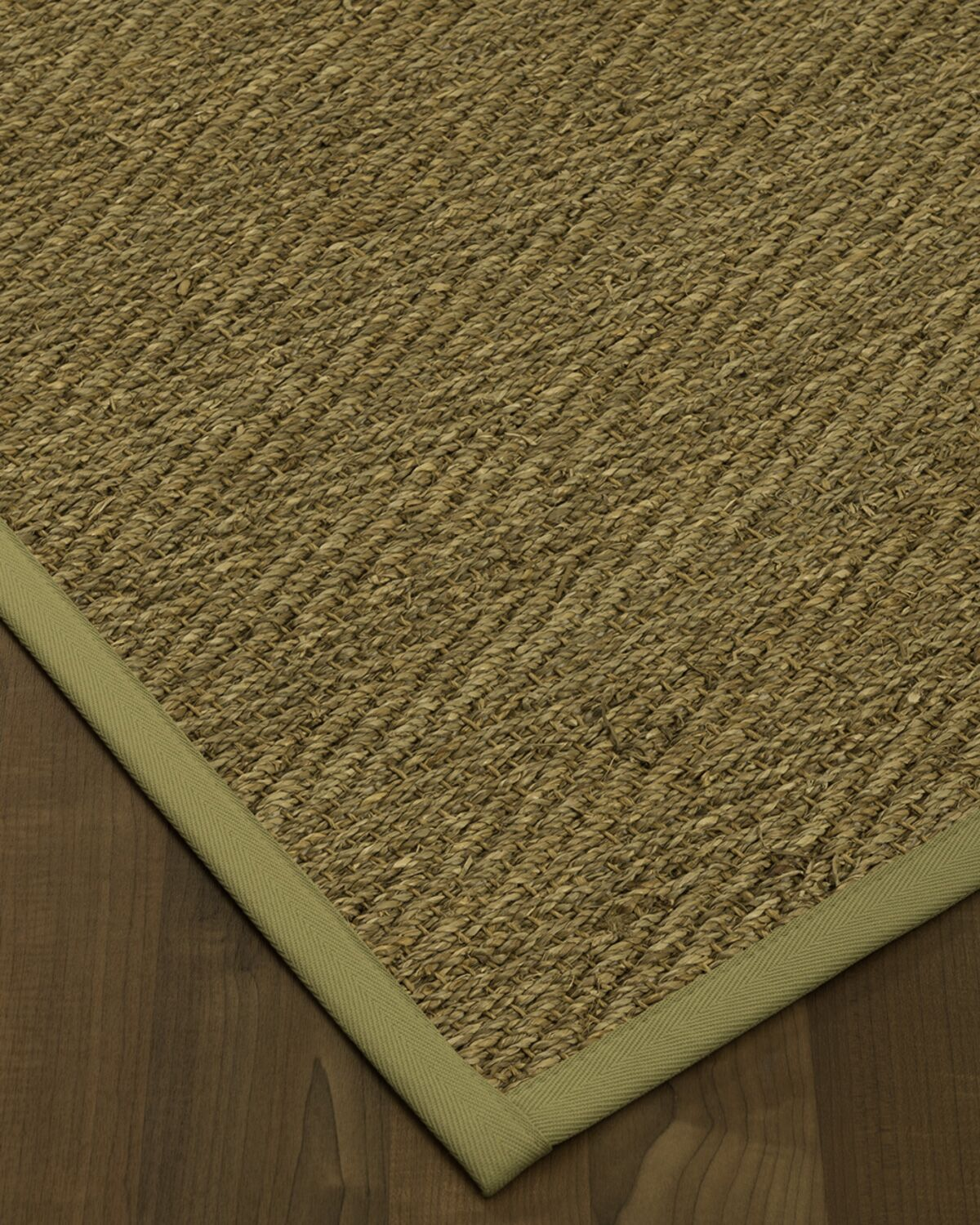 Chavarria Border Hand-Woven Beige/Sand Area Rug Rug Size: Rectangle 5' x 8', Rug Pad Included: Yes