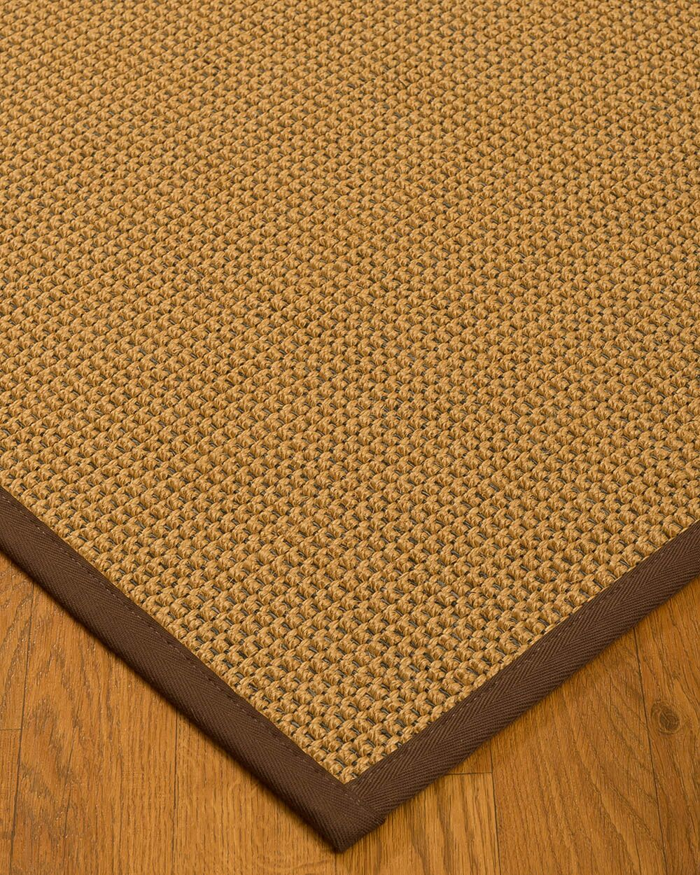 Atia Border Hand-Woven Beige/Brown Area Rug Rug Pad Included: No, Rug Size: Rectangle 3' x 5'