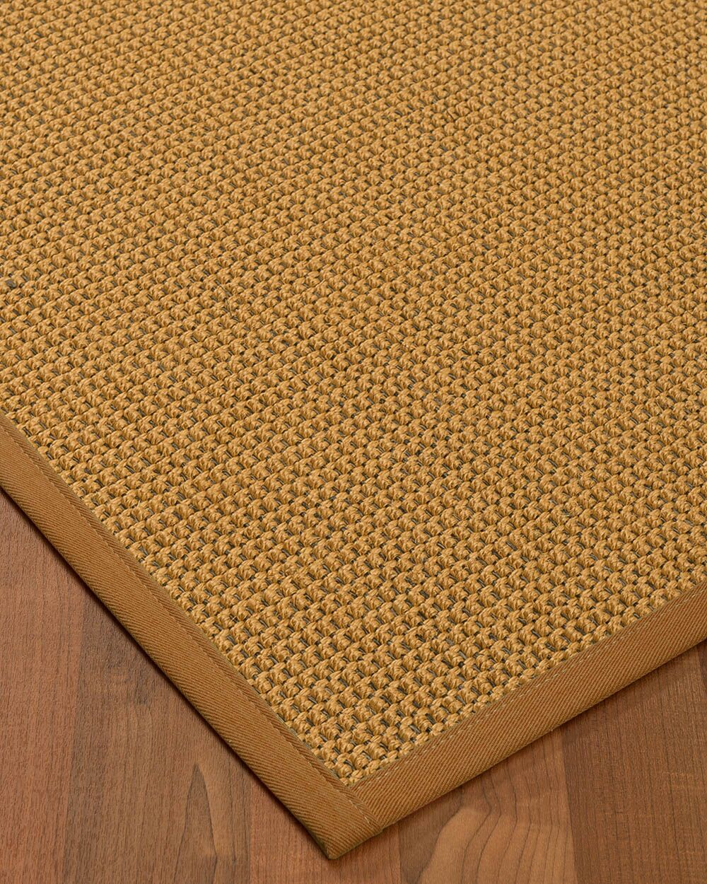 Atia Border Hand-Woven Beige/Sienna Area Rug Rug Size: Rectangle 5' x 8', Rug Pad Included: Yes