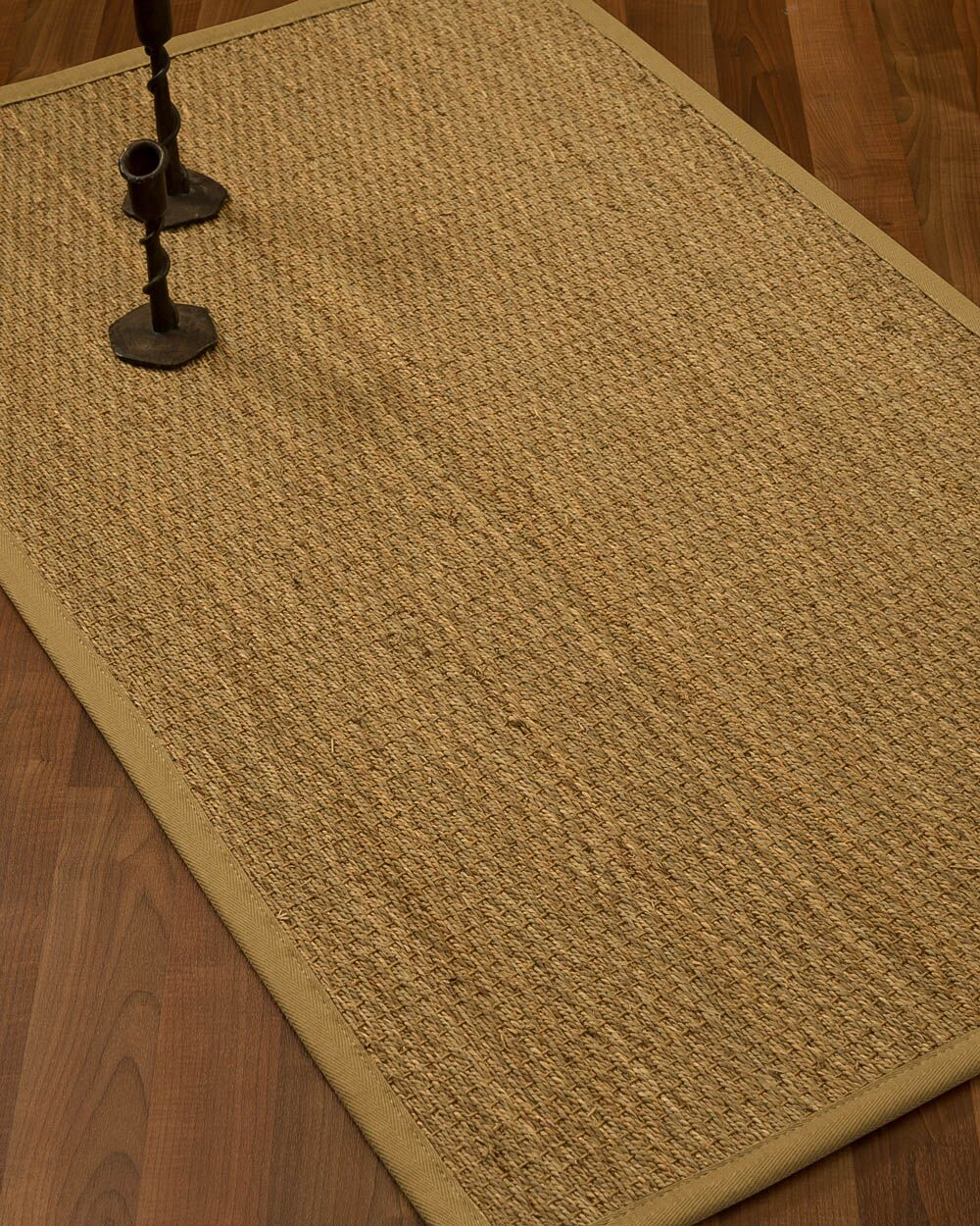 Vanmatre Border Hand-Woven Beige/Sage Area Rug Rug Size: Rectangle 4' x 6', Rug Pad Included: Yes