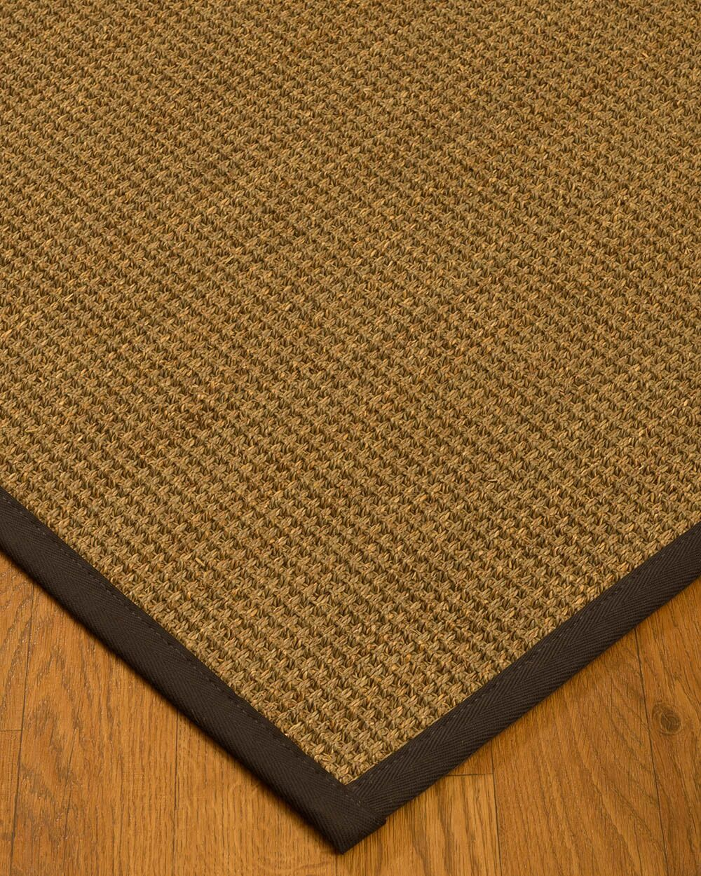 Kepler Border Hand-Woven Beige/Fudge Area Rug Rug Pad Included: No, Rug Size: Runner 2'6