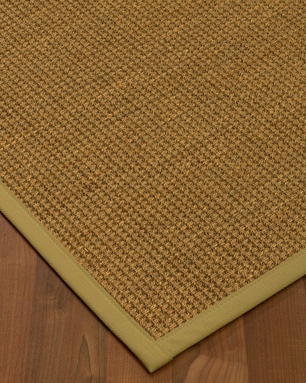 Chavez Border Hand-Woven Beige Area Rug Rug Size: Rectangle 5' x 8', Rug Pad Included: Yes